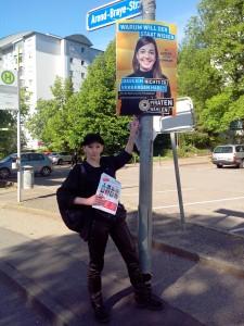 KandidatIn für den Lörracher Gemeinderat Sabin Schumacher